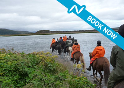 The Diamond Circle horseback riding tour