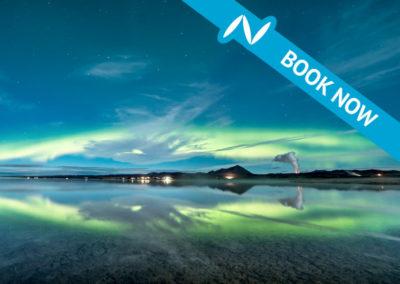 Northern Lights tour at Mývatn