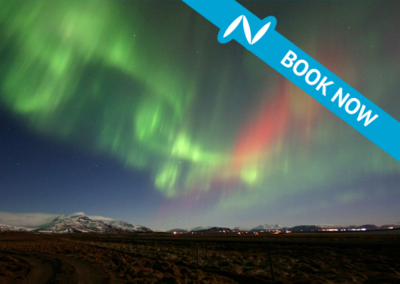Northern lights from Akureyri – Hunting in the north