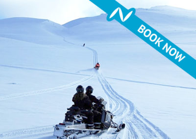Snowmobile tour from Akureyri – 2 hour tour