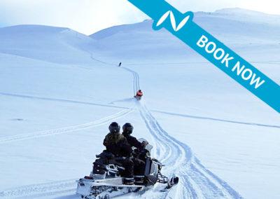 Snowmobile tour from Akureyri – 2 hour tour