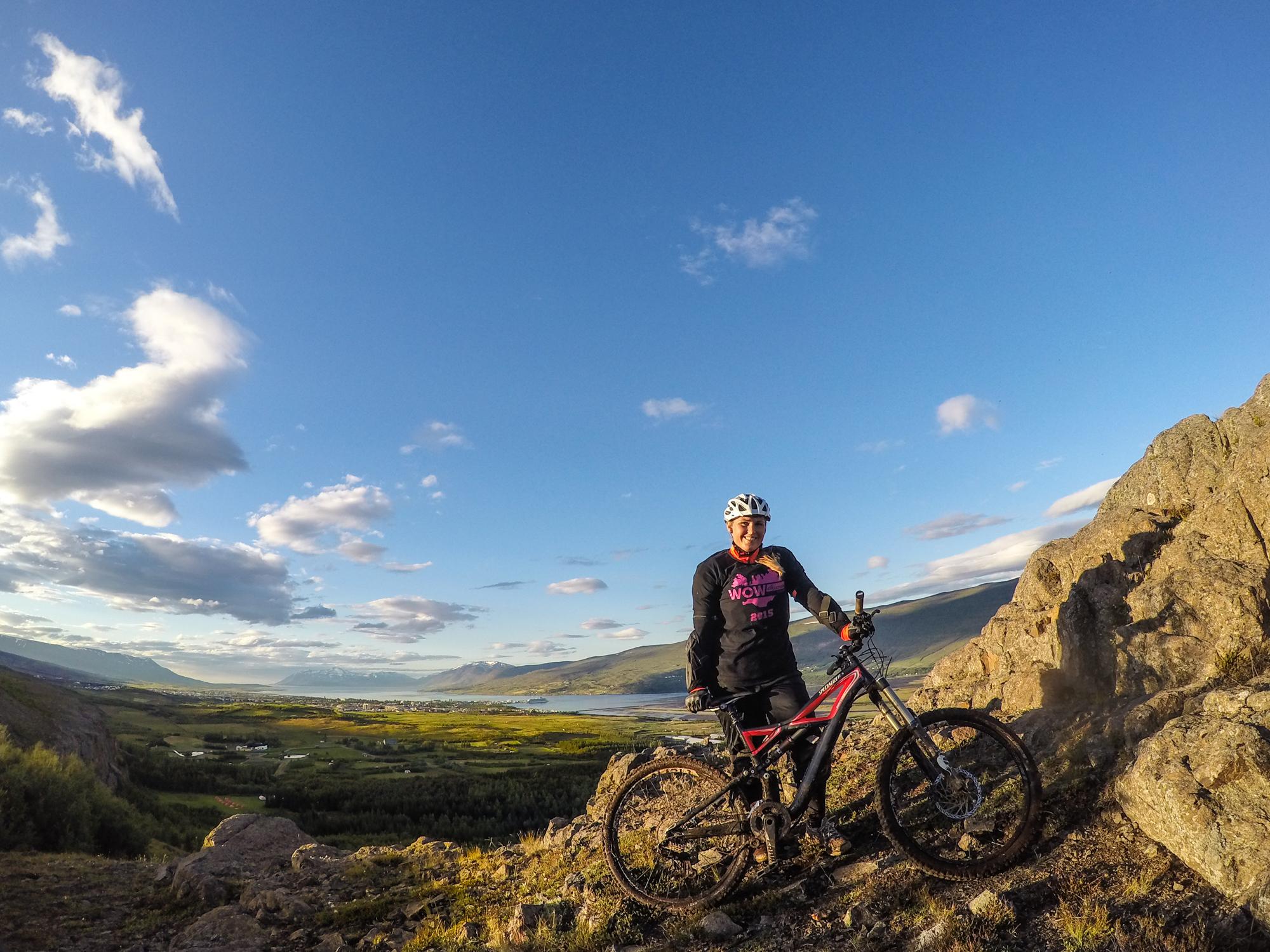 Mountain biking Akureyri
