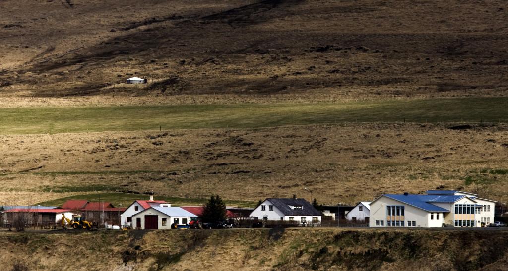 Laugarbakki North Iceland village