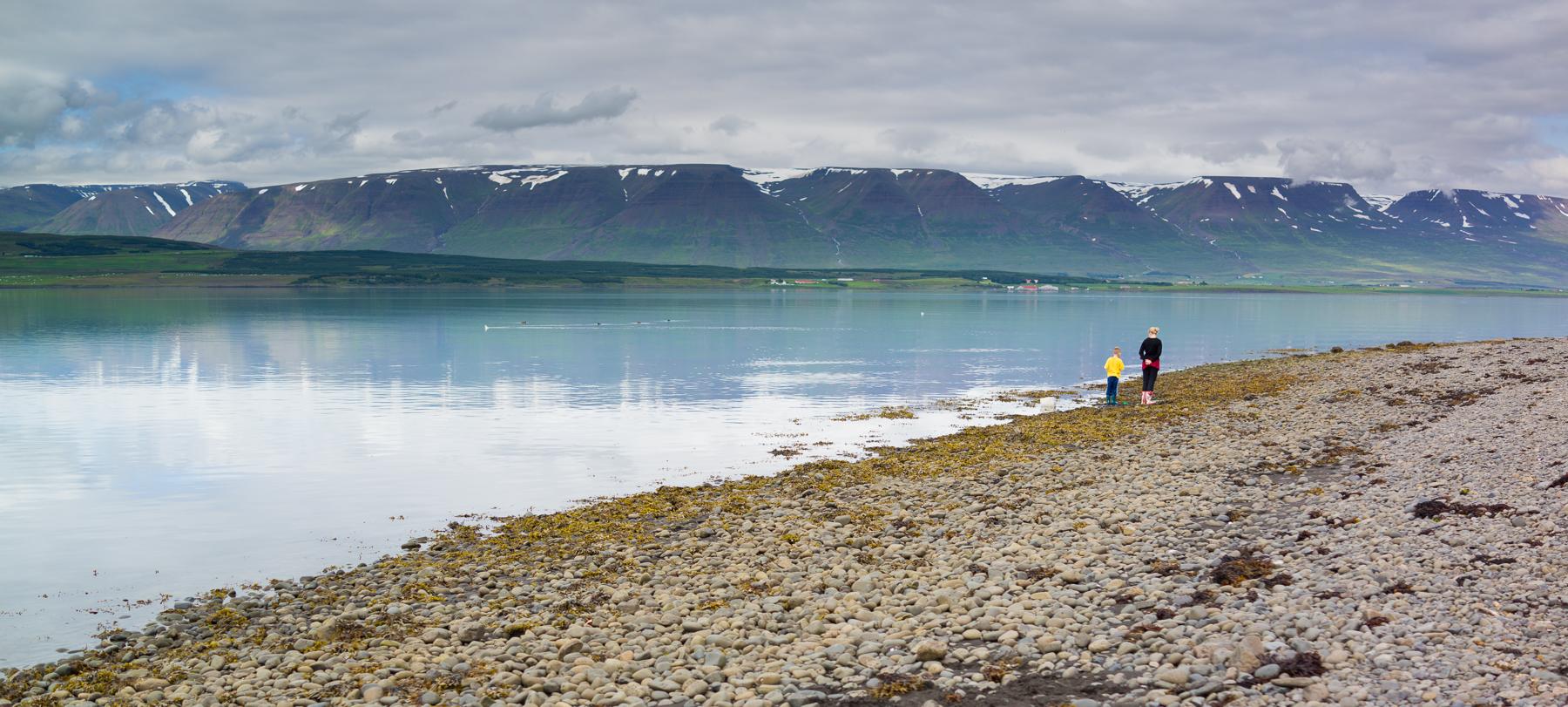 Svalbarðsströnd beach