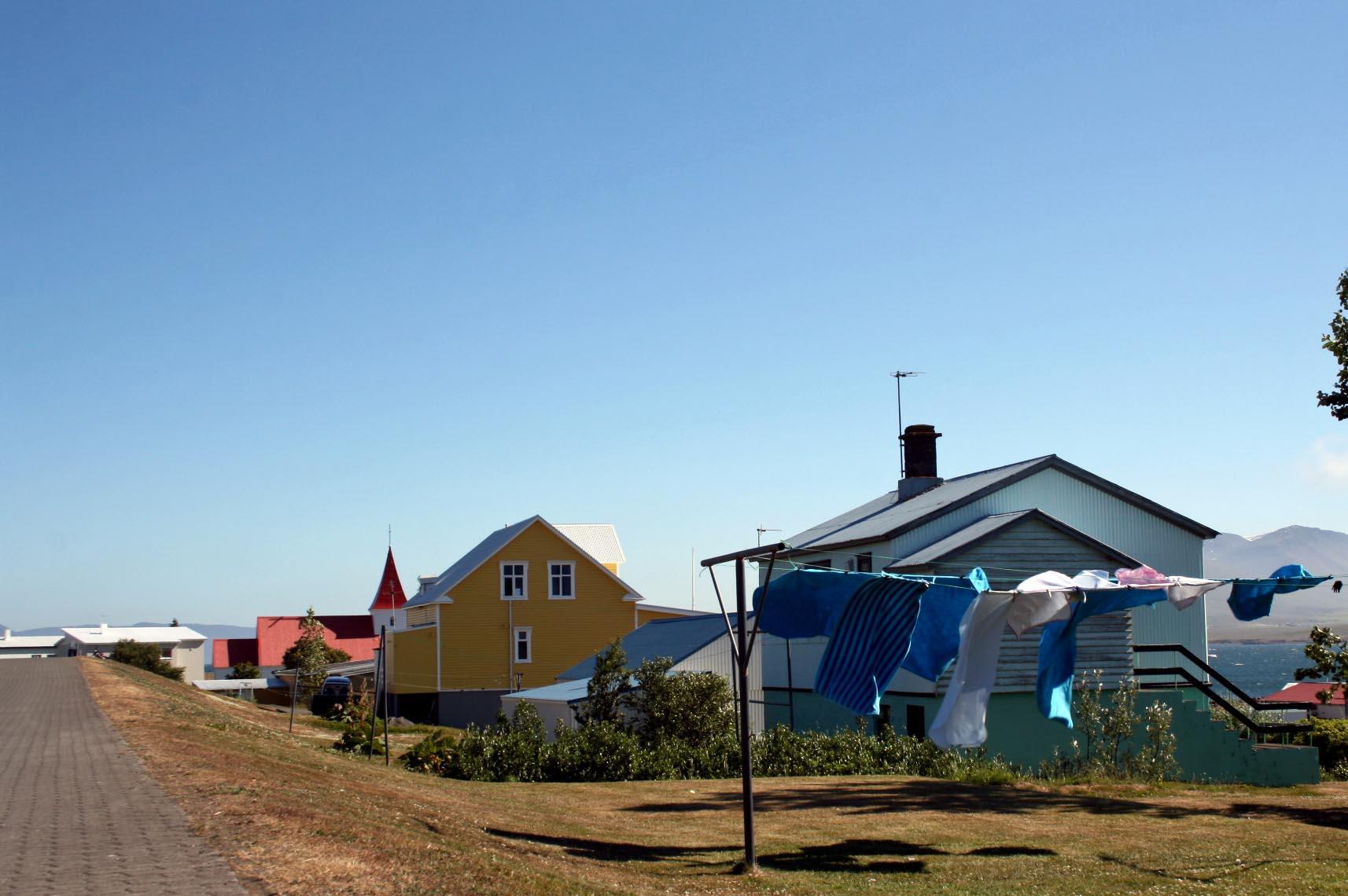 Hrísey island